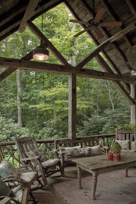 Screened Back Porch Furniture