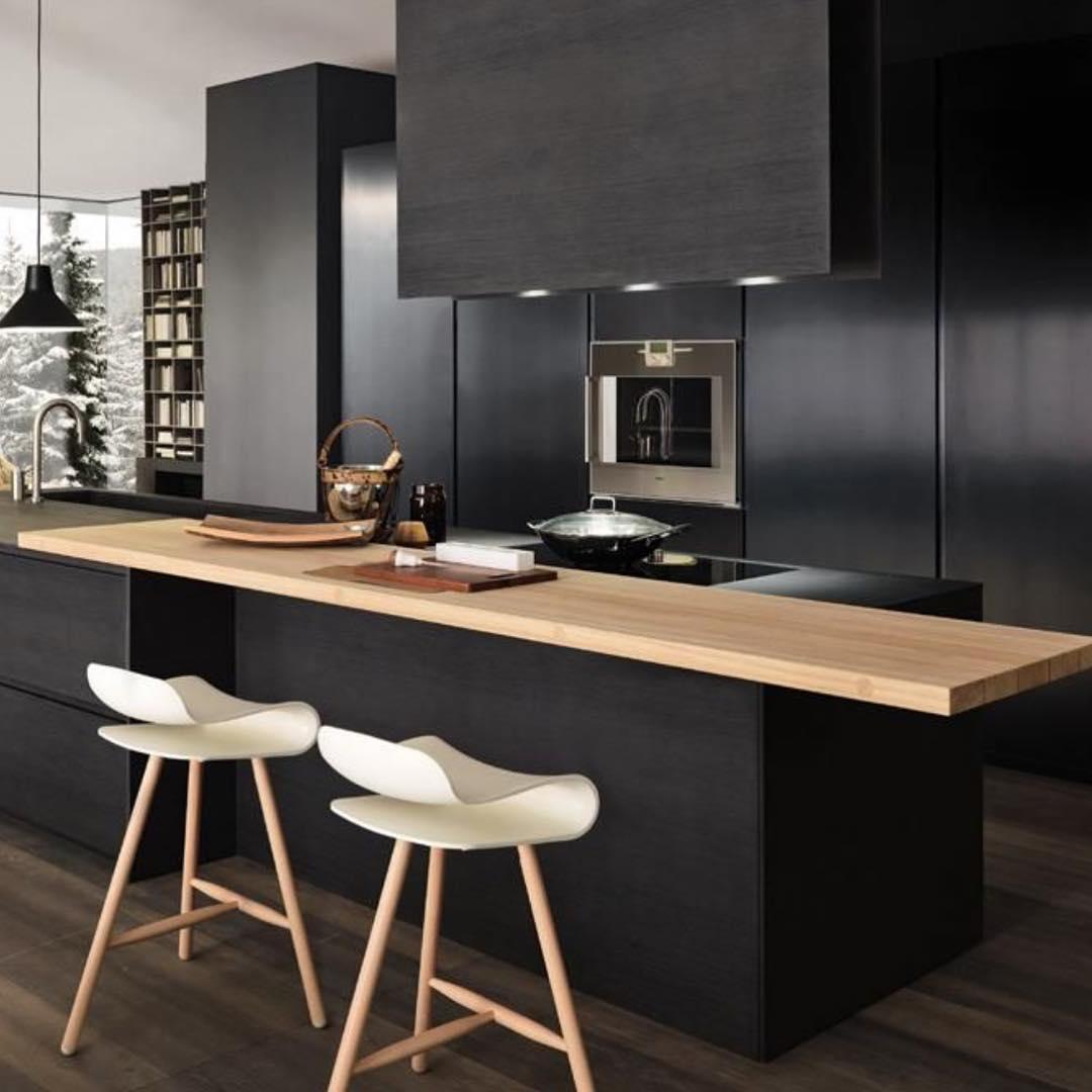 24+ black kitchen cabinet designs, decorating ideas   design trends