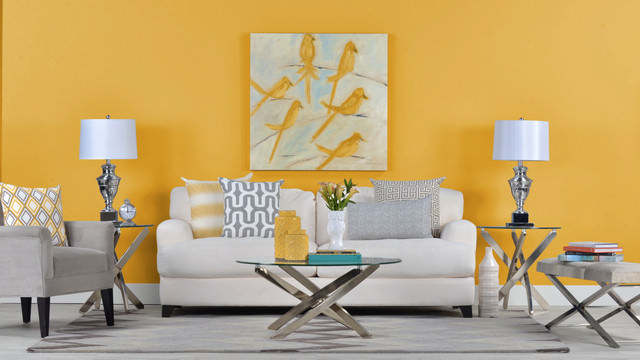 25 Yellow Living Room Designs Decorating Ideas Design