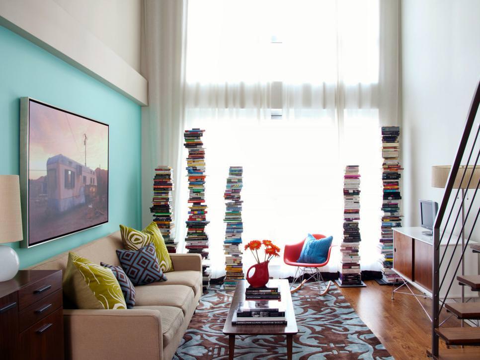 23+ Narrow Living Room Designs, Decorating Ideas