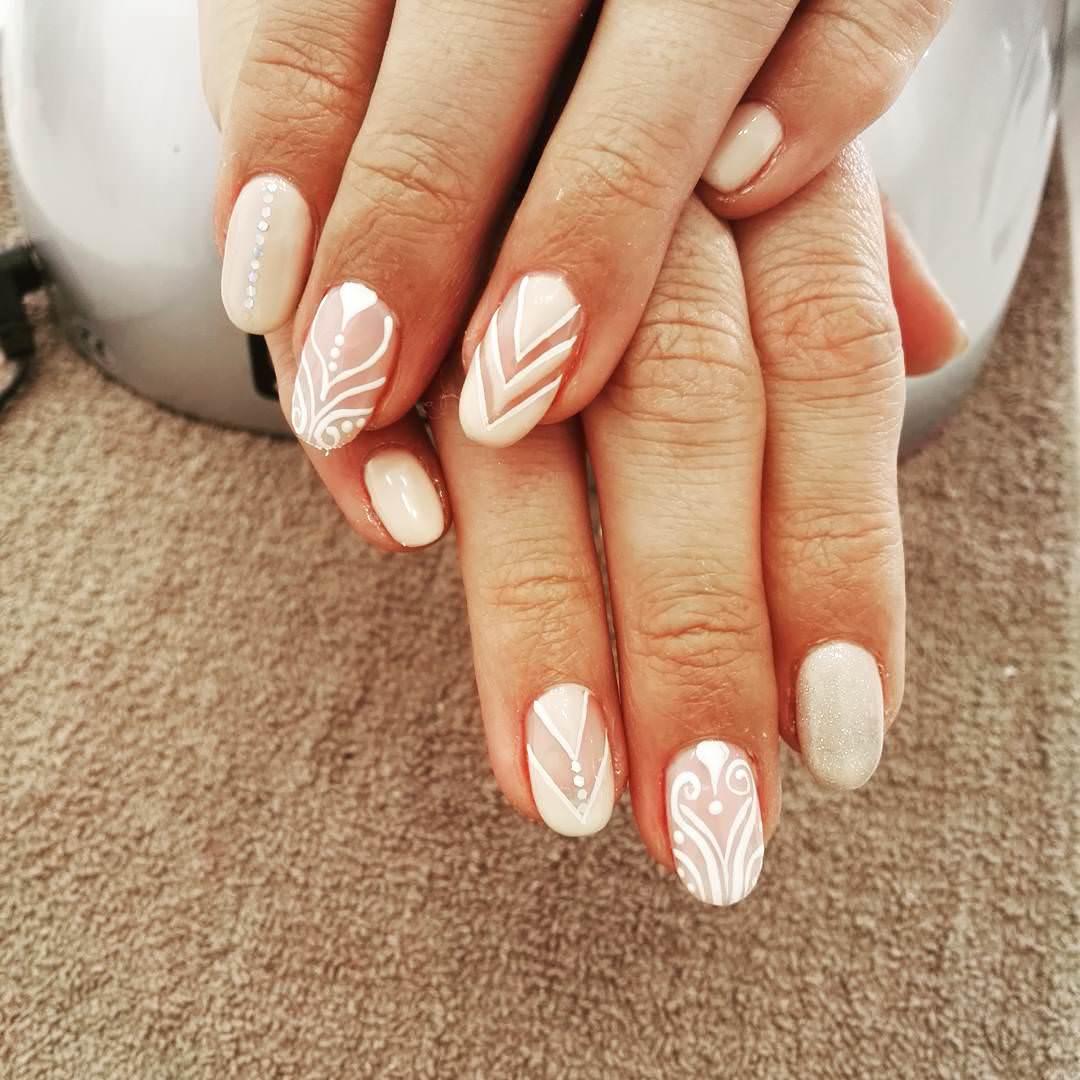 23 Oval Nail Art Designs Ideas Design Trends