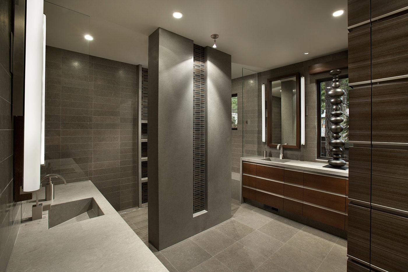 22 Stylish Grey Bathroom Designs, Decorating Ideas
