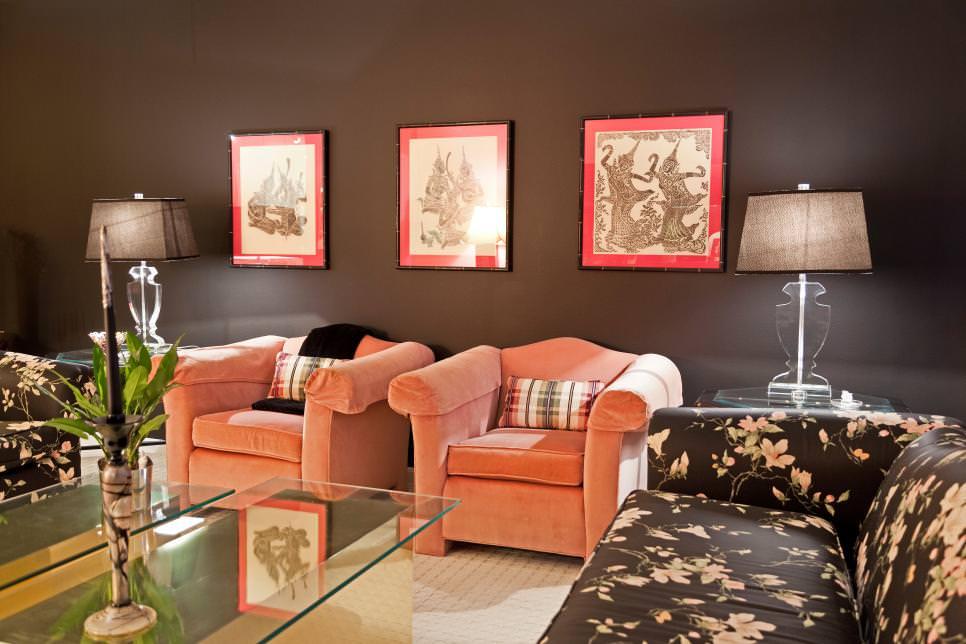 21+ Black Living Room Designs, Decorating Ideas