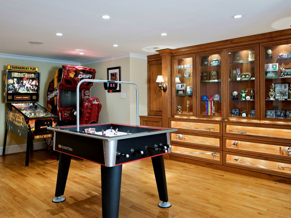 Game Room Interior Design