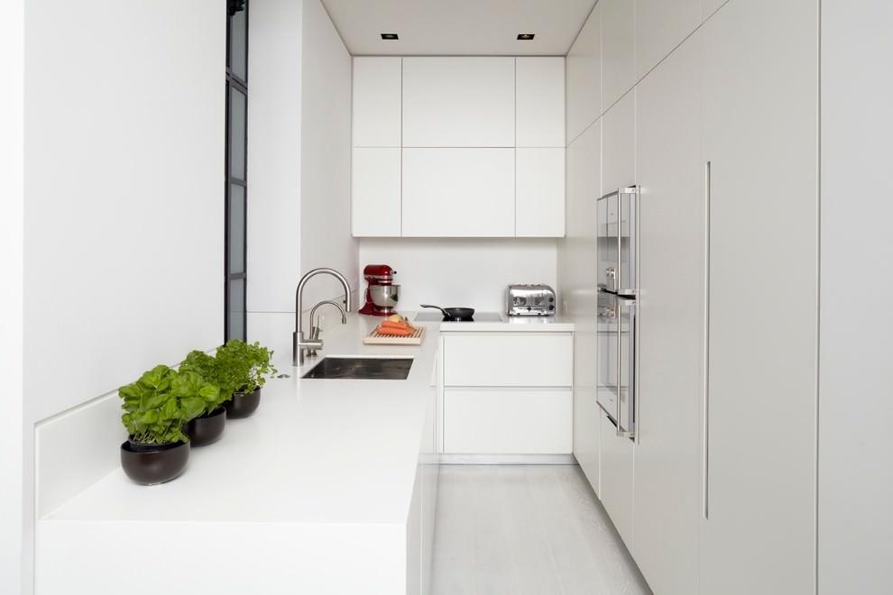 Small L Shaped Modern Kitchen Design Novocom Top