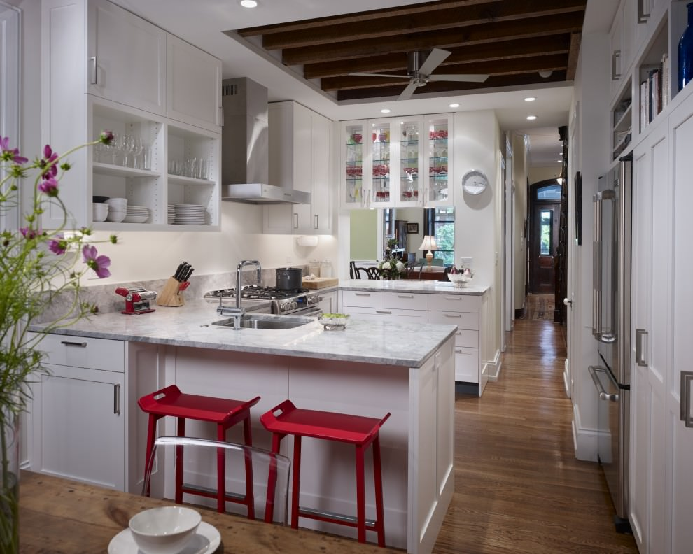 21+ L-Shaped Kitchen Designs, Decorating Ideas
