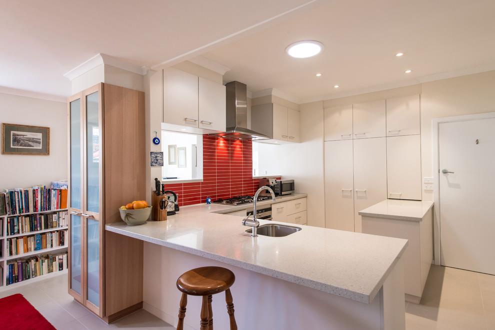 L Shaped Counter Design