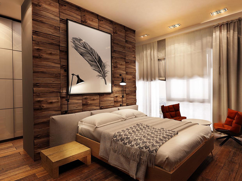 23+ Rustic Bedroom Interior Design