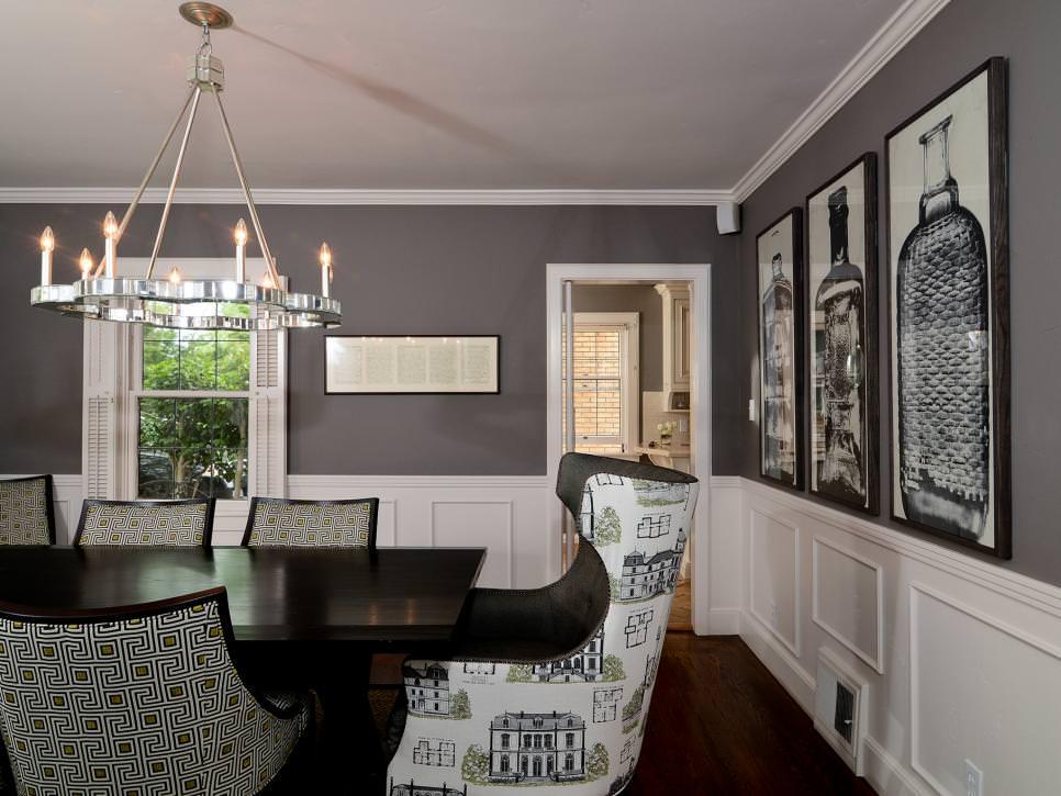 Dining Room Decor Grey
