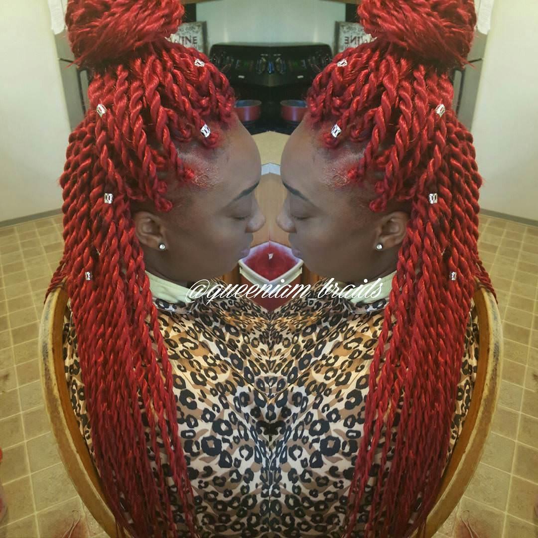 24 Kinky Twists Hairstyle Ideas Design Trends Premium