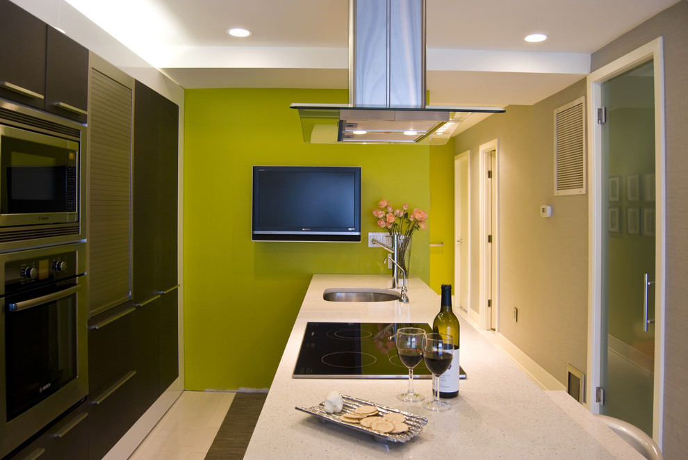 23+ Green Wall Designs, Decor Ideas