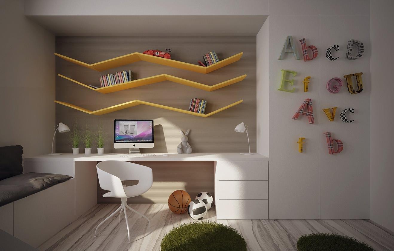 25+ Child's Room Storage Furniture, Designs, Ideas, Plans