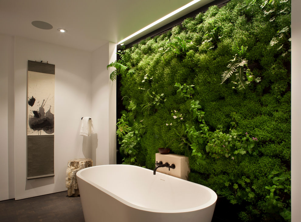 22+ Nature Bathroom Designs, Decorating Ideas