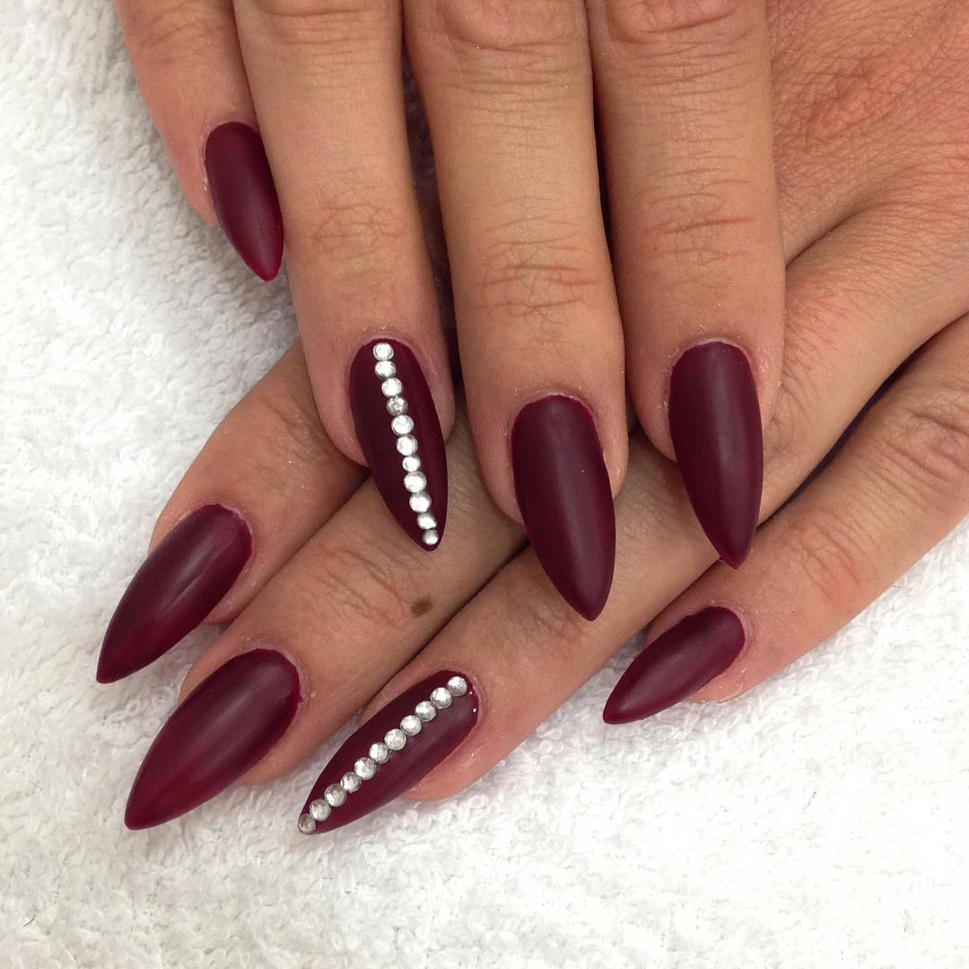 Red Nail Art On How To Apply Design Ideas In Six Step View Images