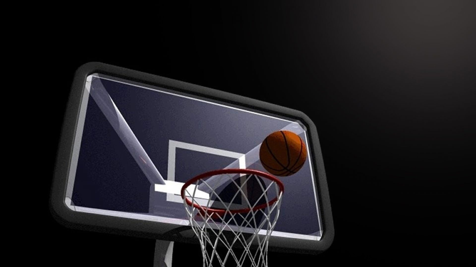 Basketball Hoop Wallpaper
