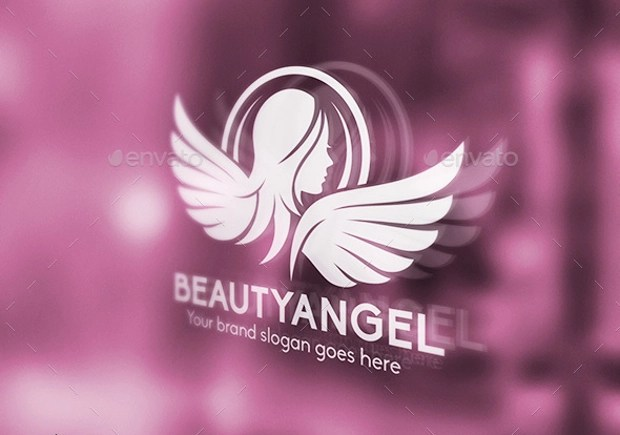 25 Angel Wings Logo Designs Ideas Examples Design