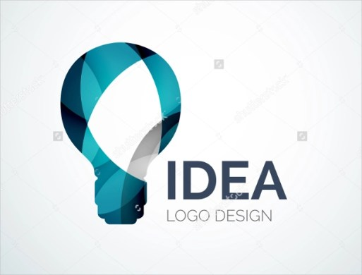 Collection of Best Electrical Logo Designs   Design Trends   Premium     Geometric Shape Electric Bulb Logo