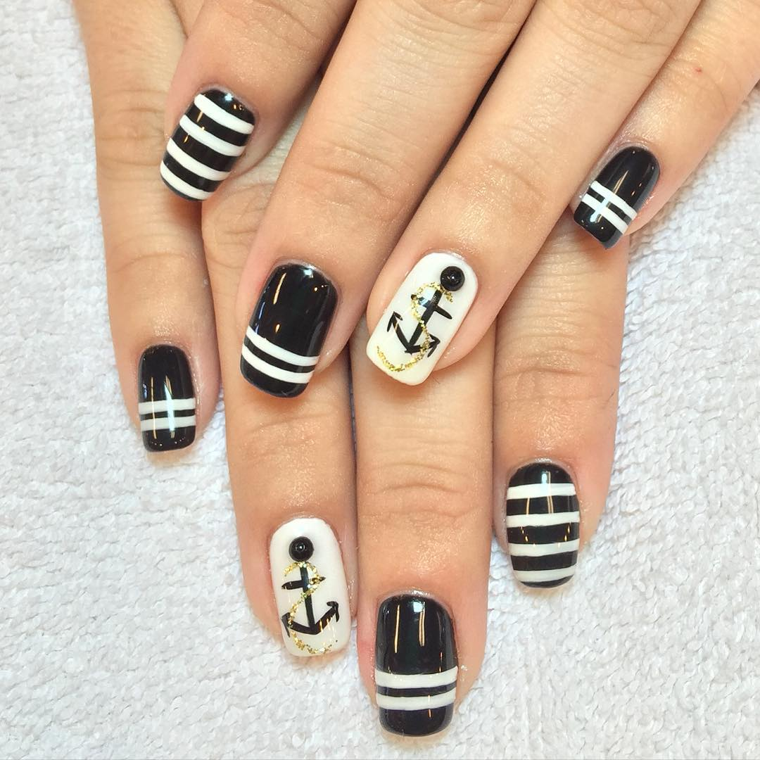 Nail Art Ideas » Detroit Tigers Nail Art - Pictures of Nail Art ...