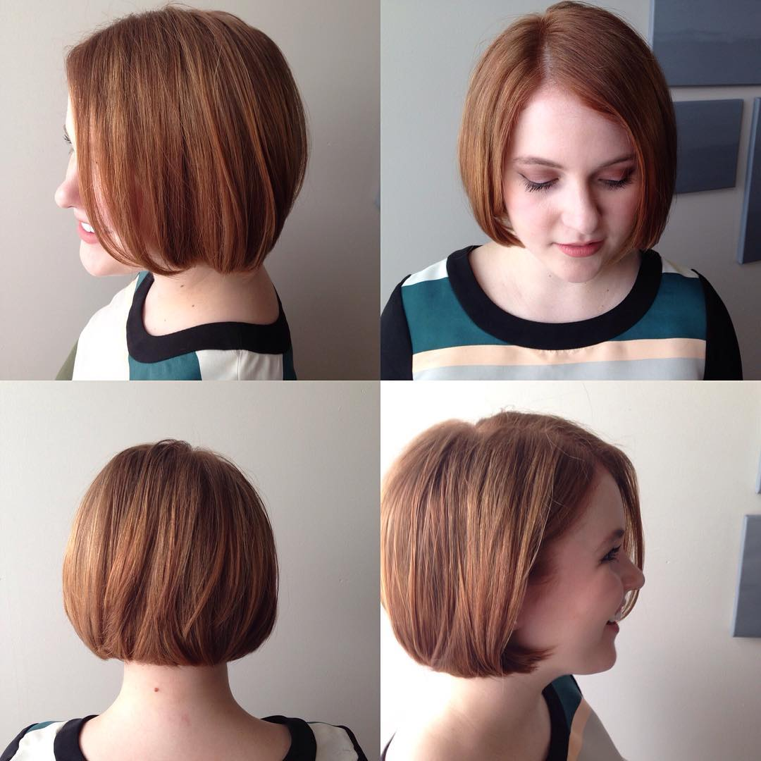 Short To Medium Hairstyles For Round Faces Page 1