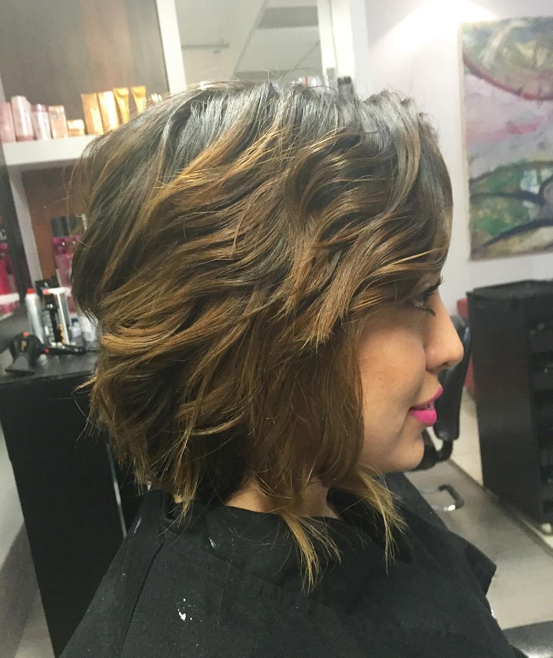 25 Shaggy Bob Haircuts Ideas Hairstyles Design