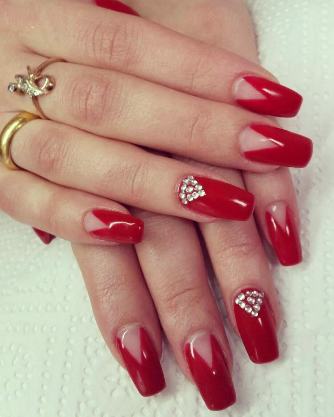 Red Nail Art Design Images Finger Designs Ideas Trends Premium Psd
