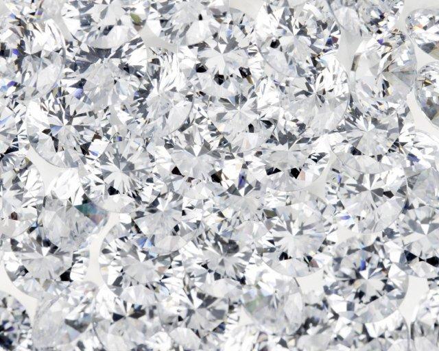Shining Diamonds Wallpaper