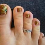 22 Fall Toe Nail Art Designs Ideas Design Trends Premium Psd Vector Downloads