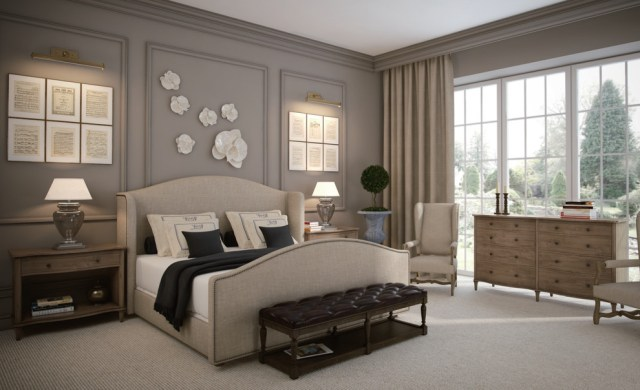 20+ French Bedroom Furniture Ideas, Designs, Plans ...