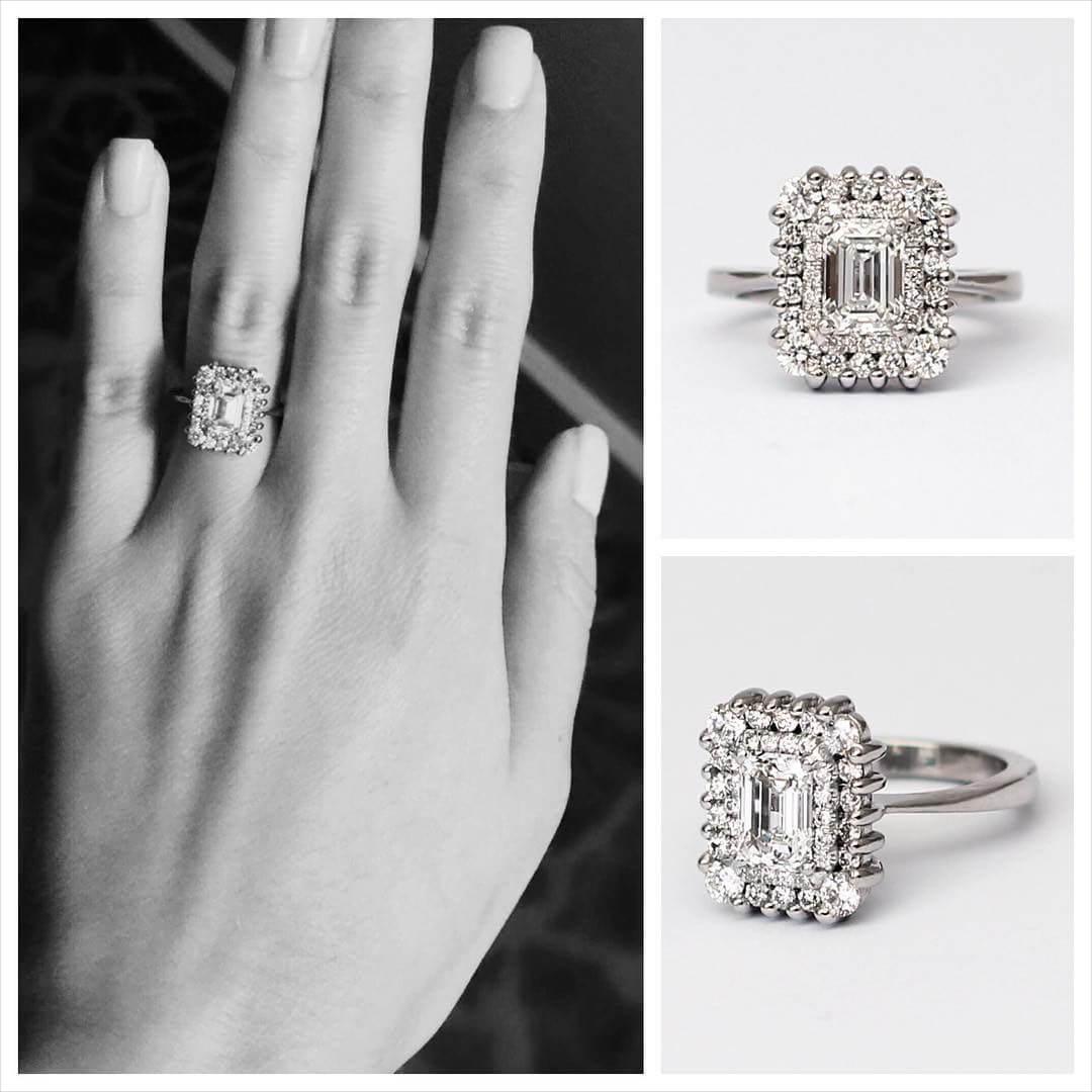 21 Vintage Princess Cut Engagement Ring Designs Trends