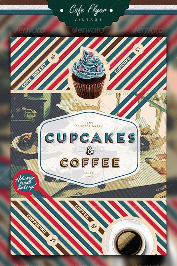 30 Cupcake Flyer Design Templates PSD Publisher Design Trends Premium PSD Vector Downloads