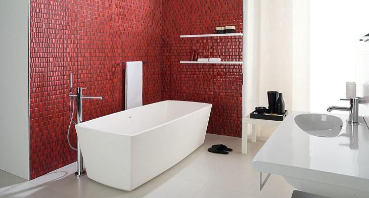 20 mosaic tile bathroom designs