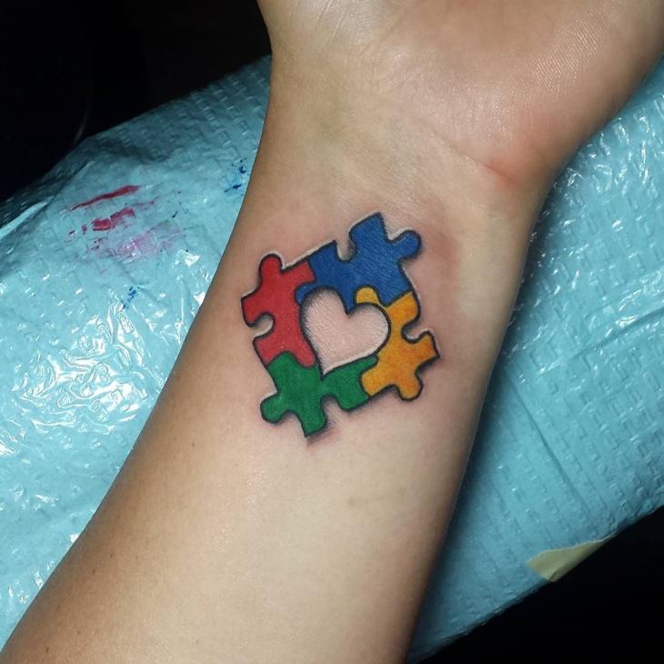 Puzzle Piece Autism Symbol
