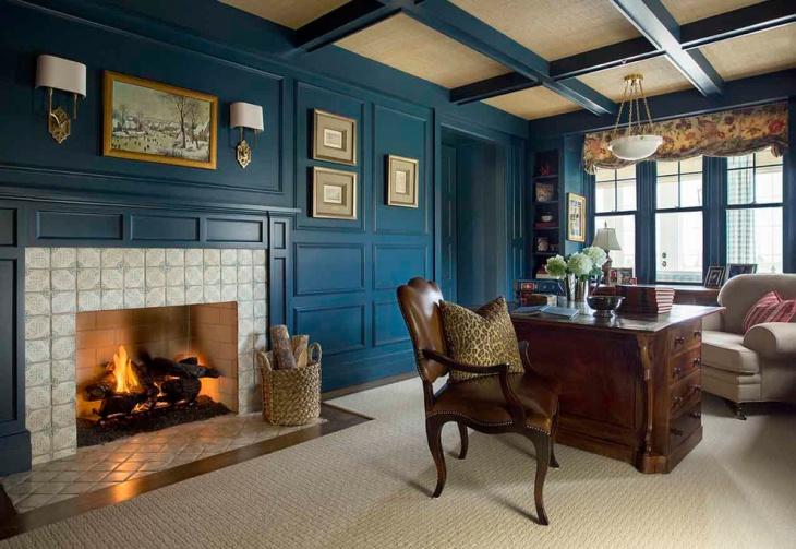 21 Farmhouse Home Office Designs Decorating Ideas