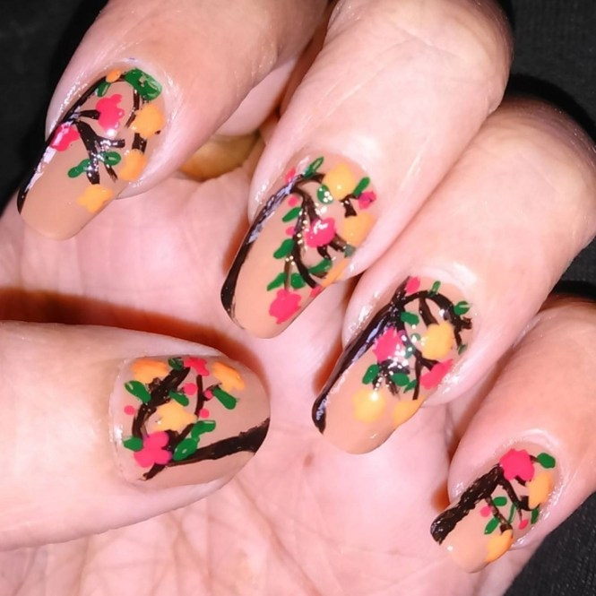 20 Fall Autumn Nail Art Designs Ideas Stickers