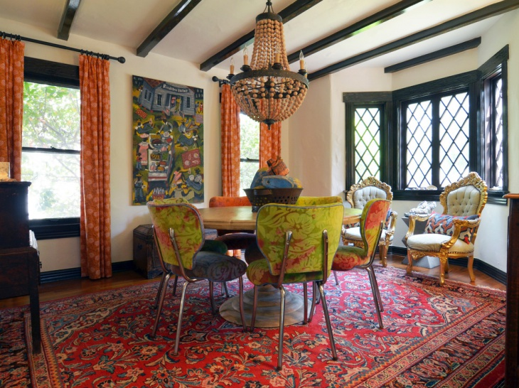 21 Bohemian Dining Room Designs Decorating Ideas
