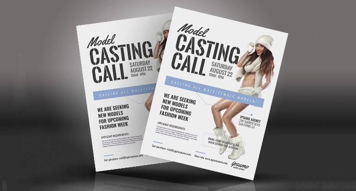 25 Best Audition Flyer Templates Word Psd Ai Eps