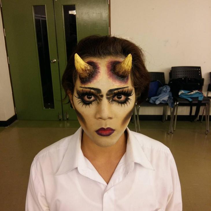 21 Demon Makeup Designs Trends Ideas Design Trends