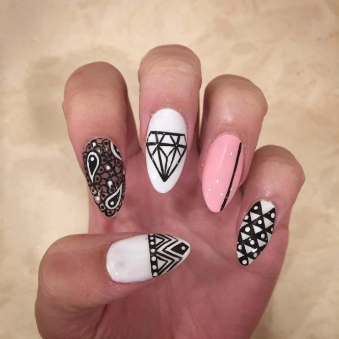 Hdiy Converse Nail Art Best Design Ideas