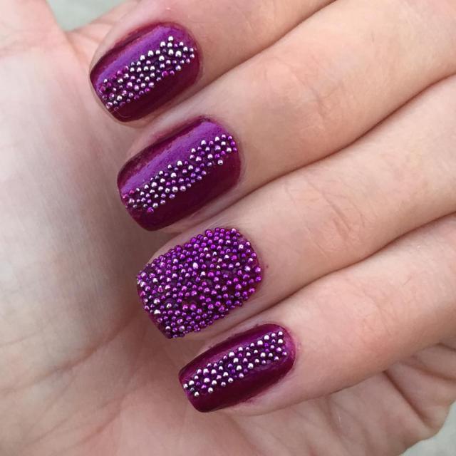 Rosary bead nail art nail art ideas 15 beaded nail art designs ideas design trends premium psd prinsesfo Gallery