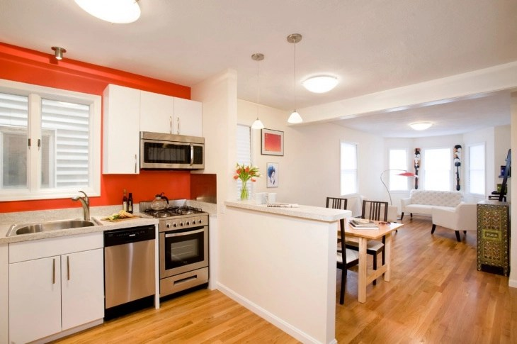 Lovely Half Wall Ideas Between Kitchen And Living Room Centerfieldbar Com Part 29