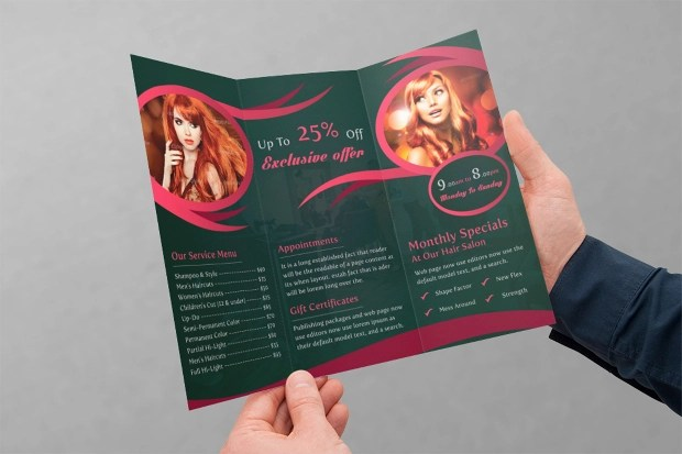 21 Cosmetic Brochures Free PSD AI InDesign Vector