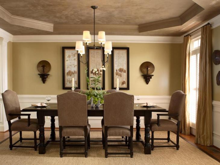 18+ Dining Room Ceiling Light Designs, Ideas