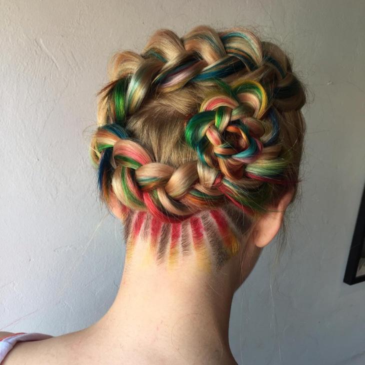 20 Flower Braid Hairstyle Ideas Designs Design Trends