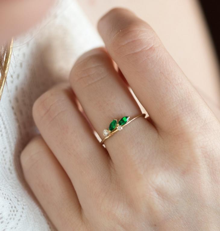 21 Leaf Ring Designs Trends Models Design Trends
