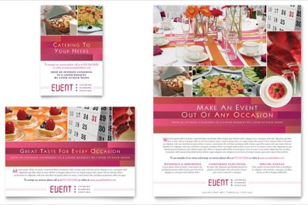 Financial Template For Business Plan Catering Brochure Templates - Catering brochure templates
