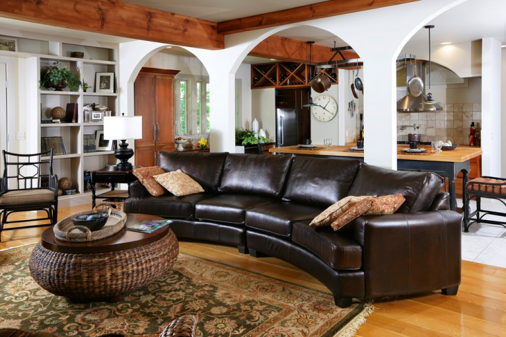 18 Curved Sectional Sofa Designs Ideas Design Trends
