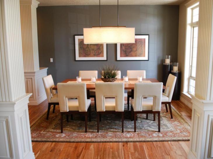 18+ Neutral Dining Room Designs, Ideas
