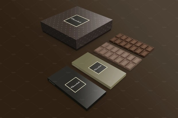 19 Chocolate Packaging PSD Templates Design Trends