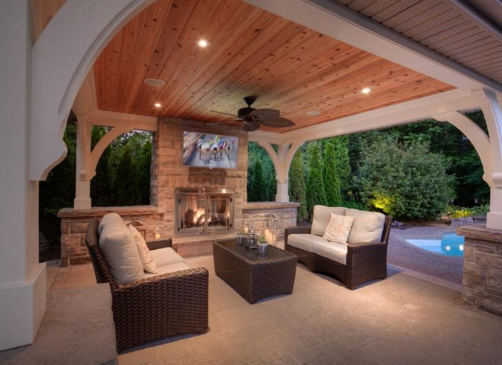 17 outdoor ceiling designs ideas
