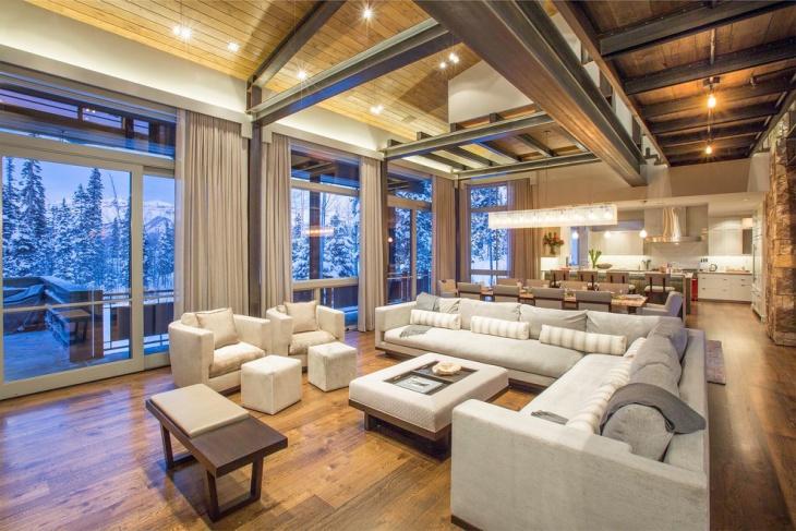 17 Chalet Living Room Designs Ideas Design Trends